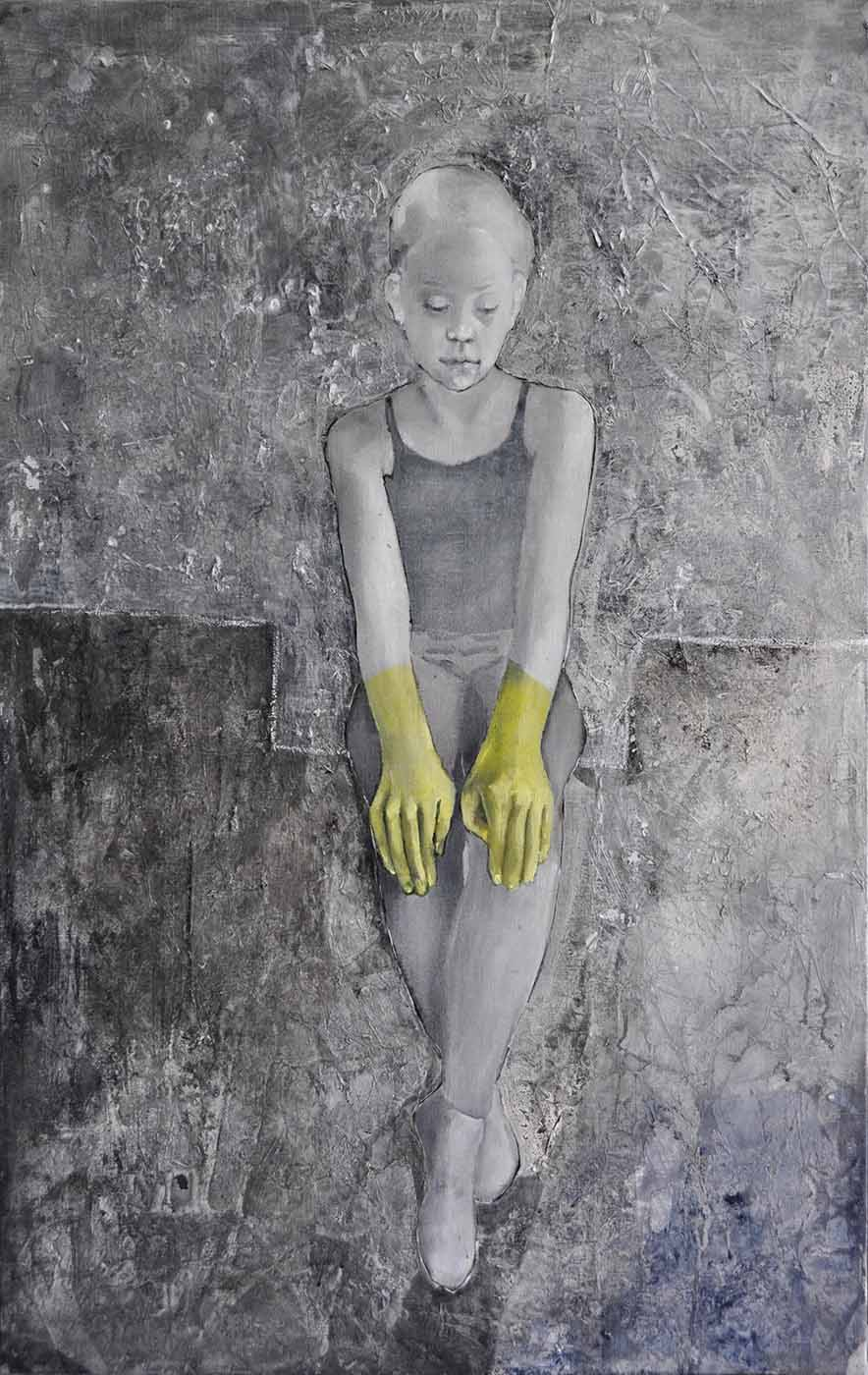 Girl with Green gloves (2017)