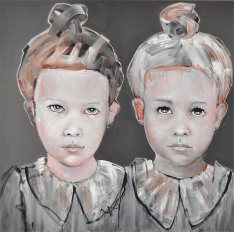 Two Girls with Knots (2013)